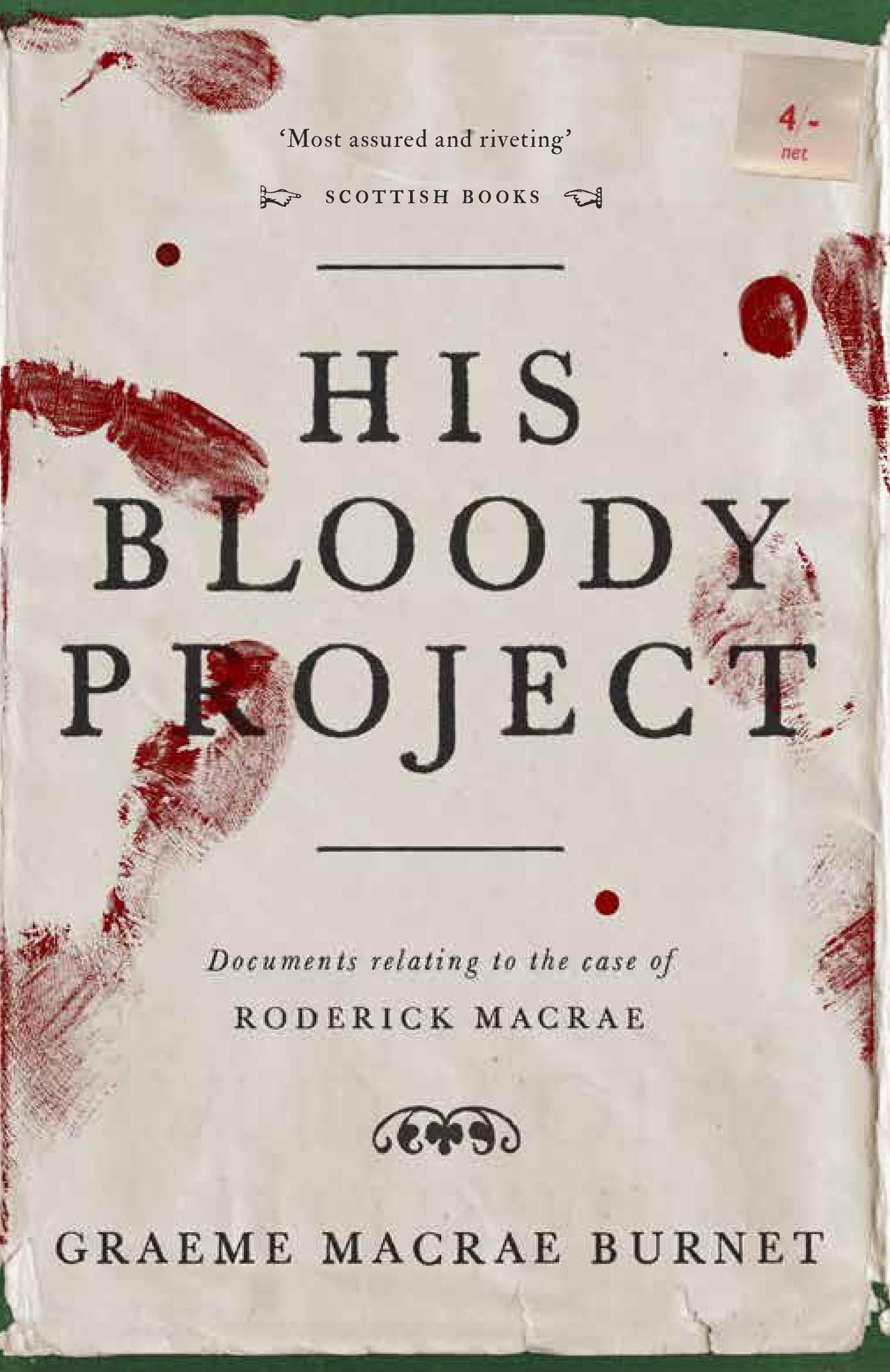 "Результат пошуку зображень за запитом ""His Bloody Project Graeme Macrae Burnet"""